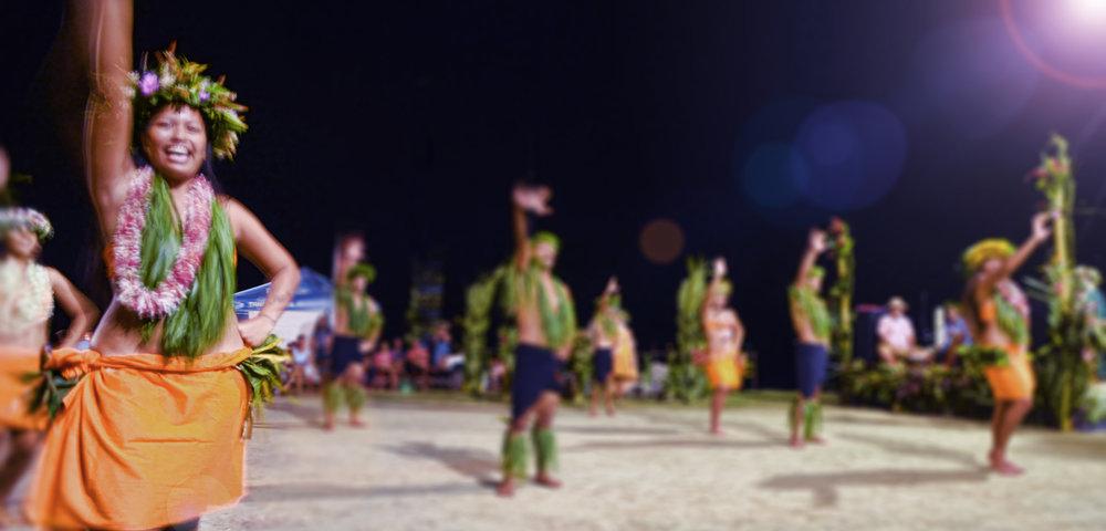 Tahitian dancers - Global Dish - Stephanie Arsenault