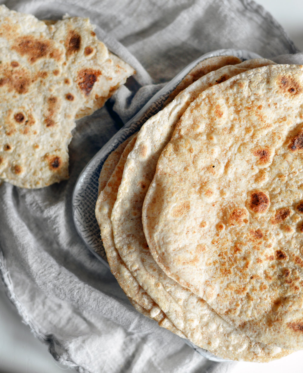 Whole-Wheat Roti - Global Dish - Stephanie Arsenault