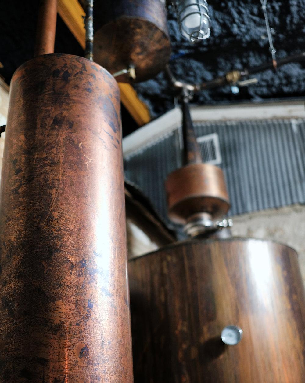 Copper Still at Elk Store & Distillery in Fredericksburg - Global Dish - Stephanie Arsenault