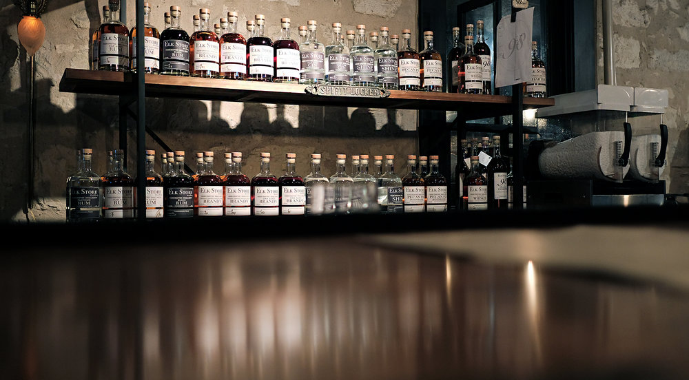 Elk Store & Distillery in Fredericksburg - Global Dish - Stephanie Arsenault