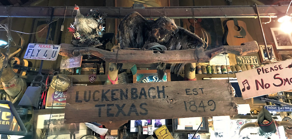 Luckenbach, Texas - Global Dish - Stephanie Arsenault