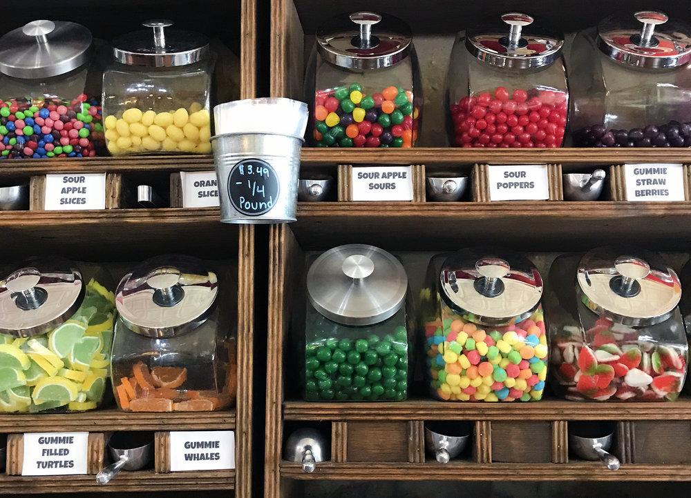 Candy Shop in Fredericksburg - Global Dish - Stephanie Arsenault