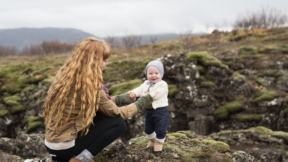 Baby in Iceland by Molly Thrasher