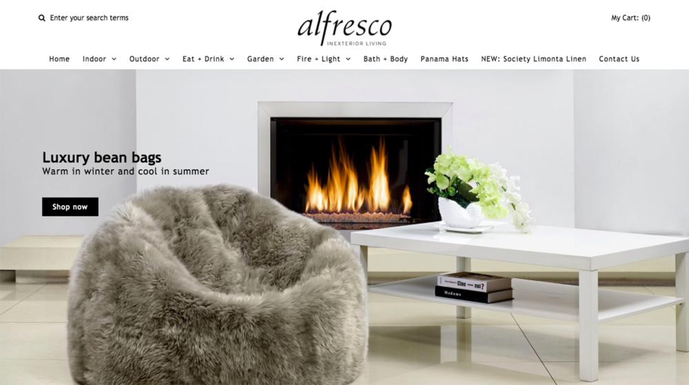 ALFRESCO INEXTERIOR LIVING, HOMEWARE & FURNITURE SHOP