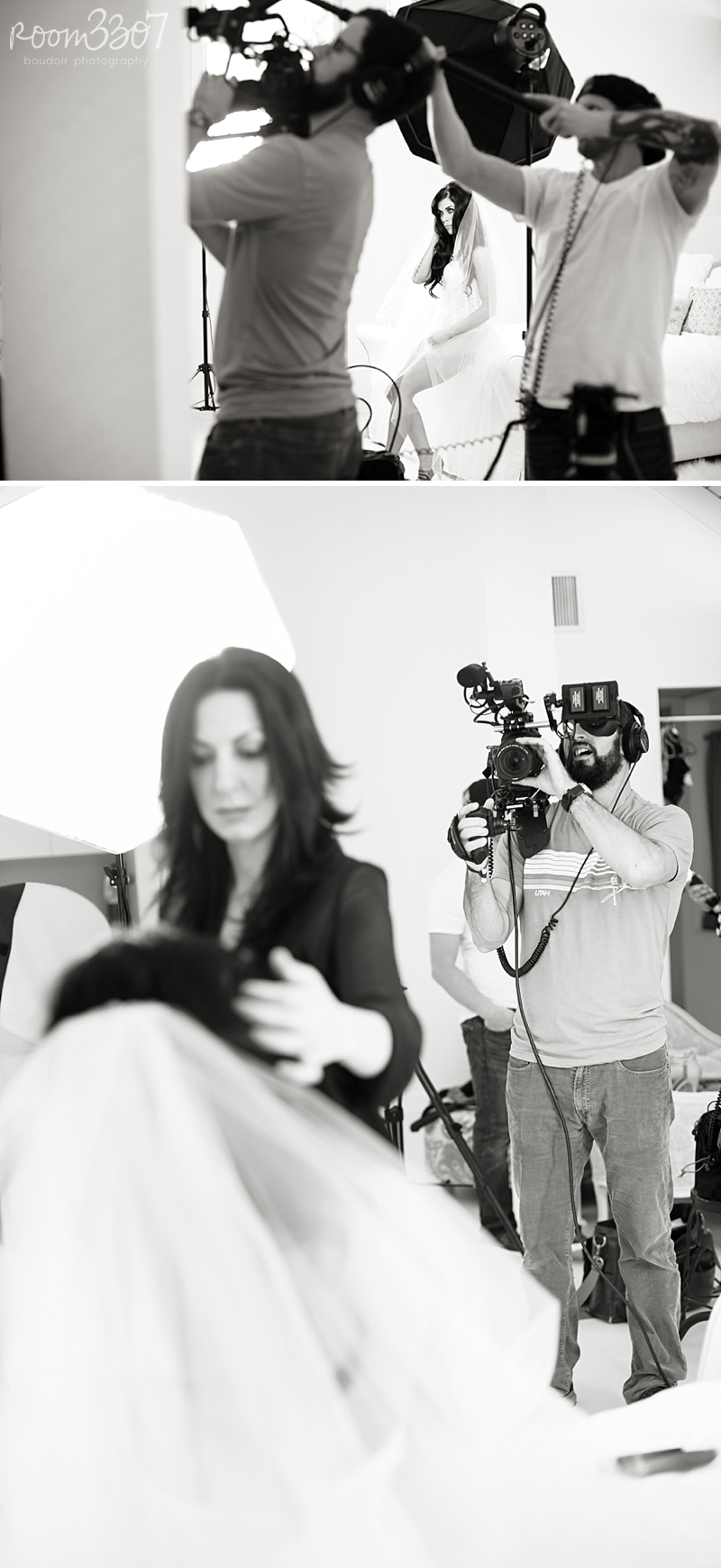 Behind the scenes of our Room 3307 promo video shoot by Lucky Lemon Films in Tampa, Florida