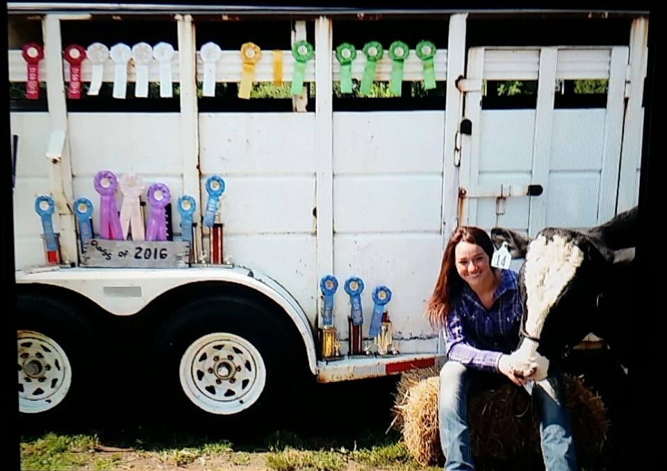 Hannah Gantz, Liberty Livestock 4-H Club