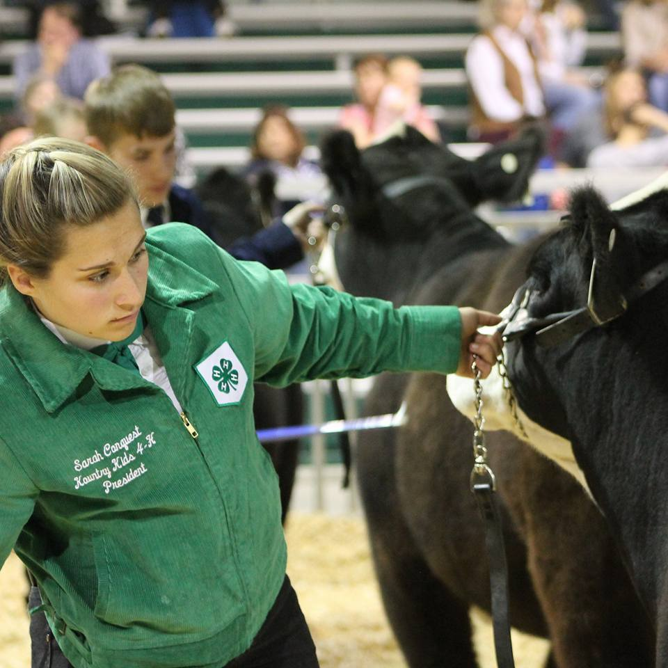 Sarah Conquest, Kountry Kids 4-H
