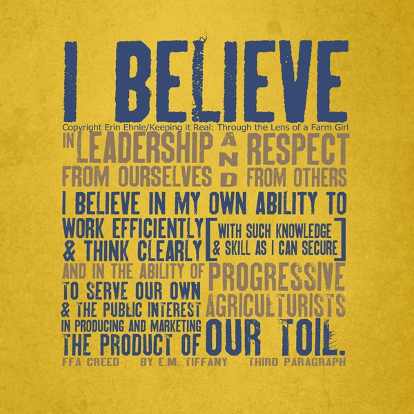 Image result for the ffa creed