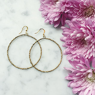 Picture:  MEGDES HOOP EARRINGS