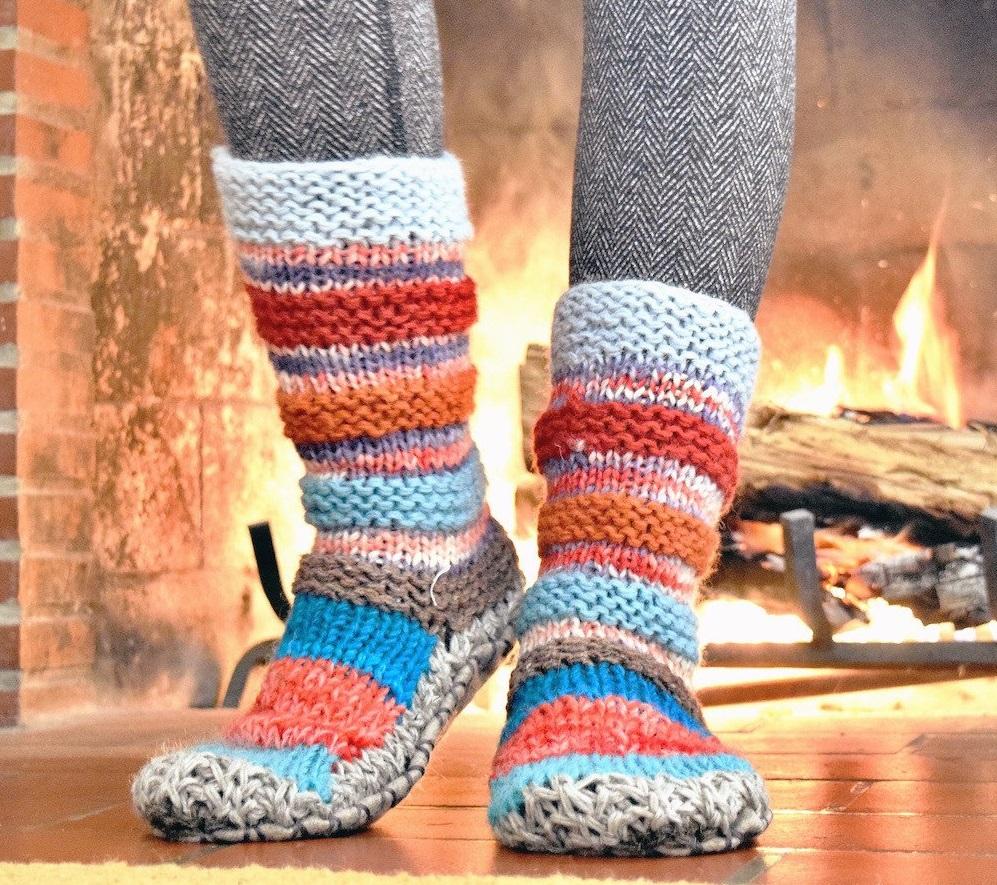 She Spotlight Tibetan Socks She Changes Everything