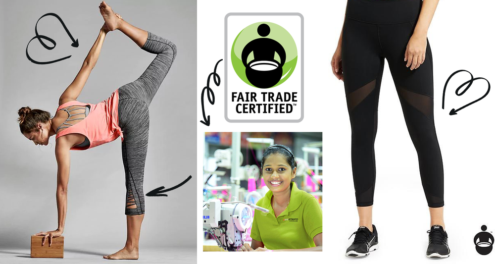 Athleta launched a Fair Trade line of athletic clothing in 2017.
