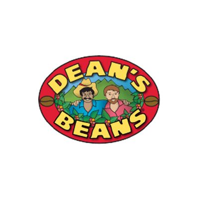 DEAN'S BEANS - Fine whole bean specialty coffees are certified organic,fair trade, and kosher, and roasted in small batches at our beanery in Orange, MA. The coffee is shade grown, which supports healthy environments for coffee growers and protects critical migratory bird habitat...and the bags are compostable!