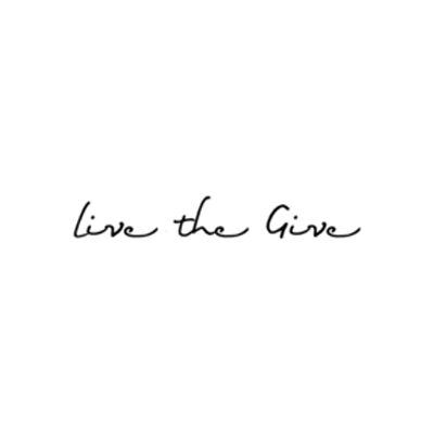 LIVE THE GIVE - Founded by a teacher, Live the Give exists to empower children around the world with the knowledge and skills that will unlock a brighter future for them, their country and the world. It costs an average of $1.18 per day per child to provide 13 years of education in a developing nation. One tee from Live the Give's collection helps provide one week of school for a child in a developing country.