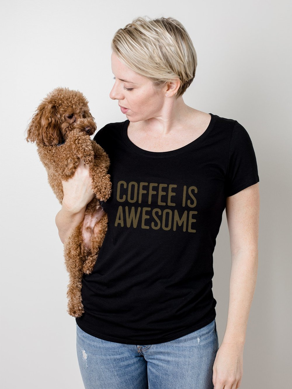 Every coffee lover needs a shirt that tells it! And gives back!