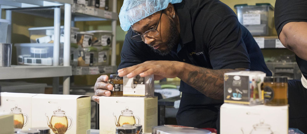 BeeLove's natural, high quality products are produced by men and women returning from incarceration. These talented men and women develop a stable work history, learn marketable skills, and gain the confidence they need to re-enter the workforce. And you get an incredible skin care product made with raw honey!