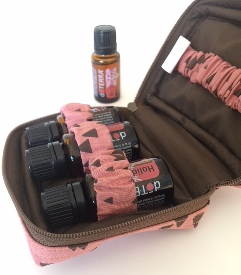 Essential Oil Bag plus doTERRA Holiday Joy