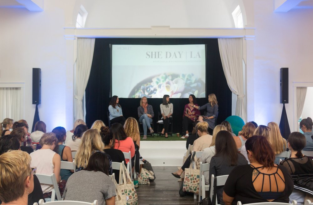 SHE Day LA, a one-day wellness event for women