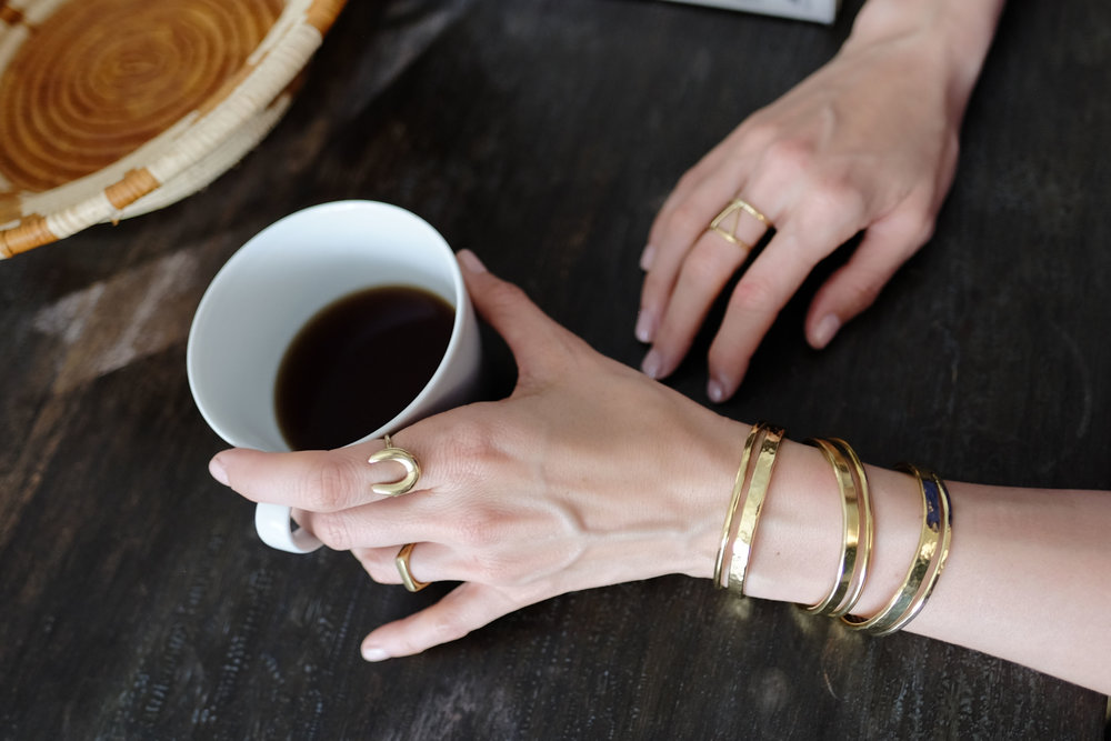 Coffee is an amazing drink with health benefits. Yup, for real. But if you find yourself reaching for cup after cup just to make it through the day, you might have imbalanced adrenals. P.S. - How cute are these  Lucy and Jo bracelets ?! They are ethically made in Kenya and give back to the  Gorilla Doctors !