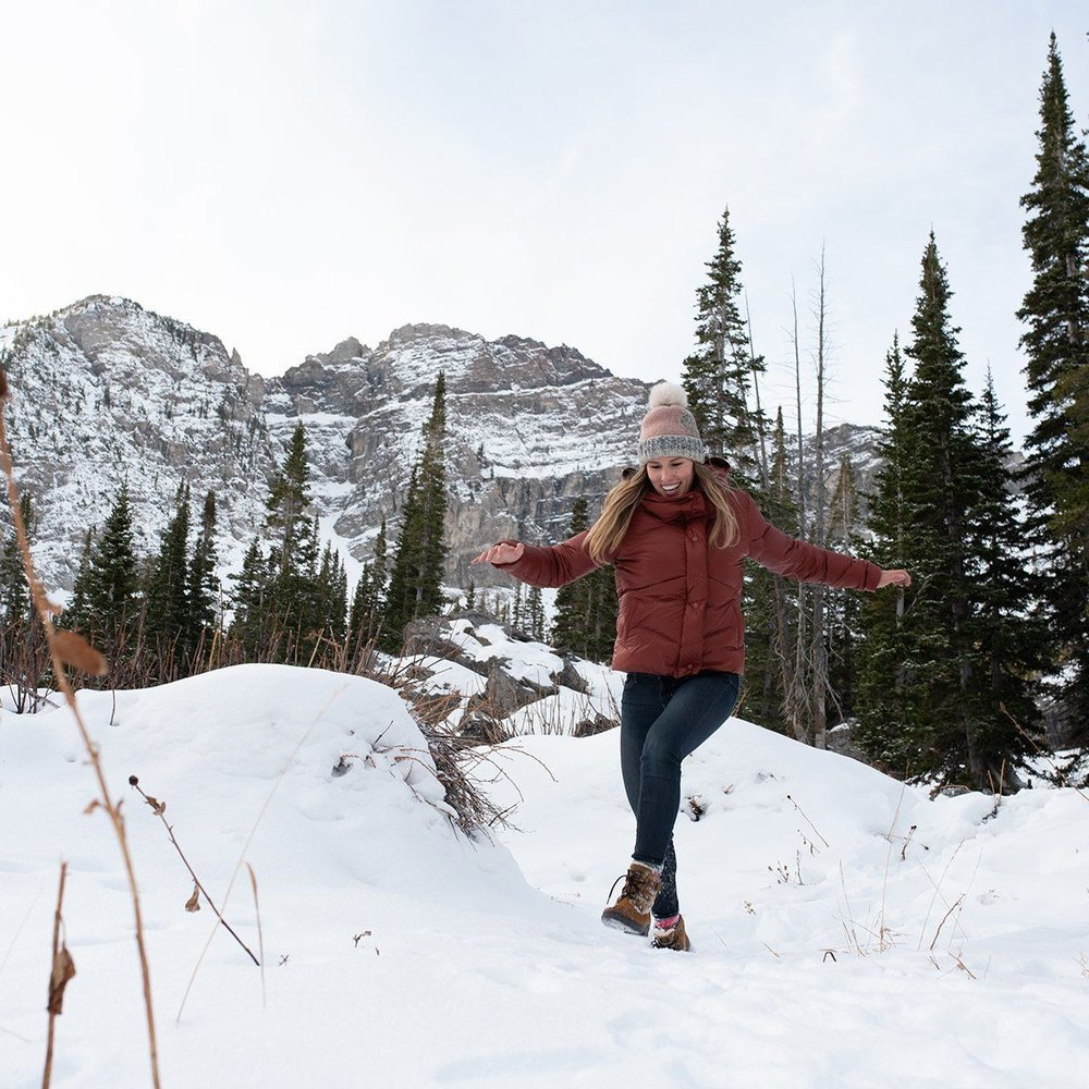 The Nina Crop Down Jacket from Cotopaxi is cute, versatile, and ethically made.