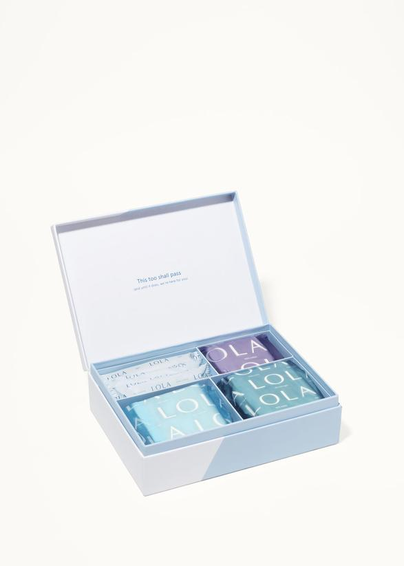 Lola is organic, gives back, and has a cool First Period Box we're in love with! It's a simple way to start a young girl you love to healthier period products. Find more organic feminine product companies at www.shechangeseverything.com.