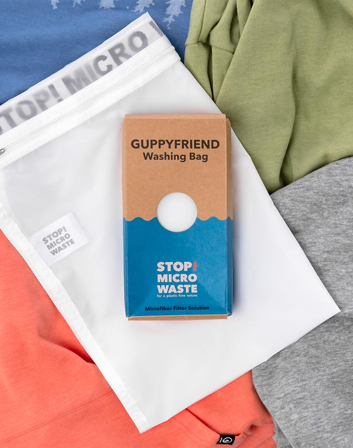 Get a Guppyfriend bag, which stops microfiber waste when you wash your clothes! Never heard of microfibers? Learn more in  Episode 17 of Critical Conversations .