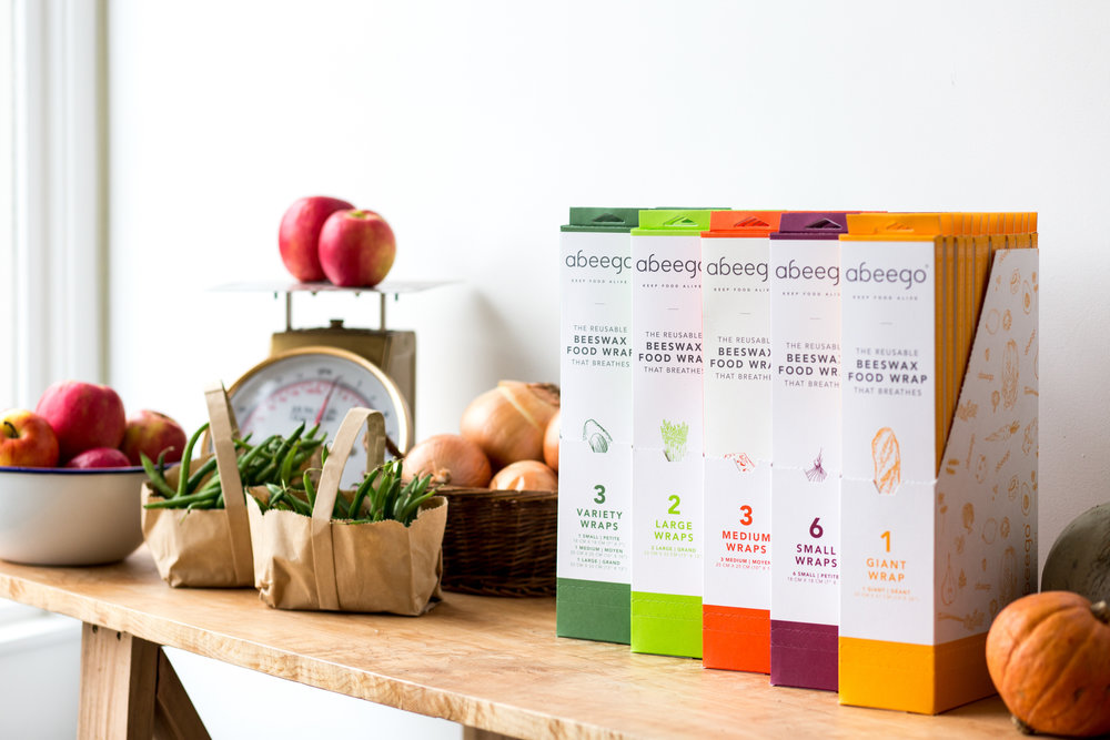 Branding and design for Abeego products are done by    Caribou Creative   .