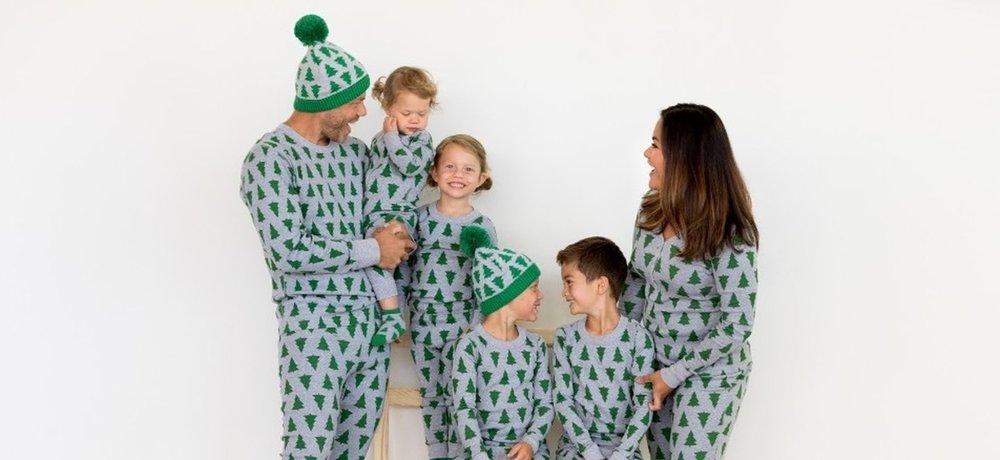 matching Christmas pajama pants ethical
