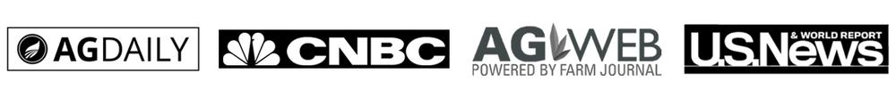 media banner - ag daily, cnbc, ag web, us news & world report, msn