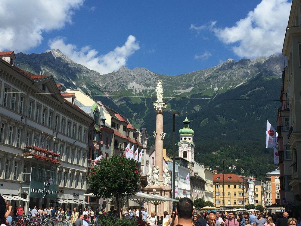 Innsbruck, Austria - July 2016