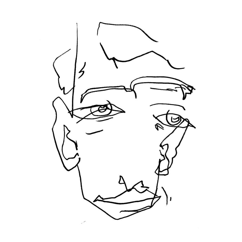 Nicholas Fuenzalida , 2017. Ink Marker. 8.5 x 11 in.