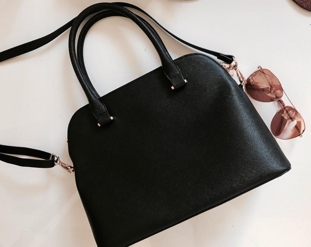 H&M Small Black Handbag