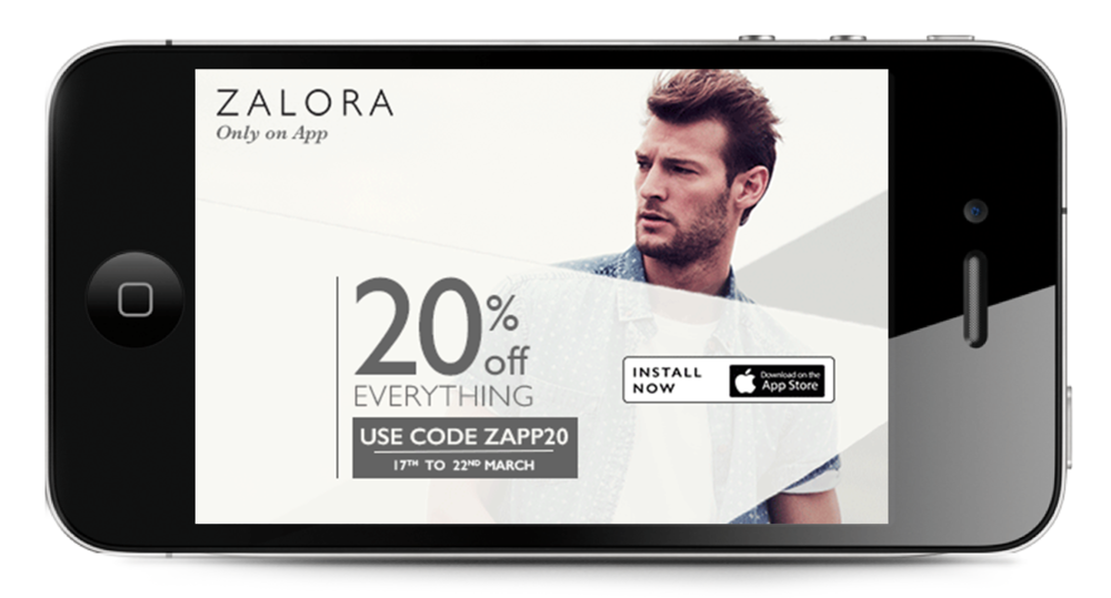 Women's and Men's Collection ad campaign to promote Zalora App.  Concept Development and Art Direction.