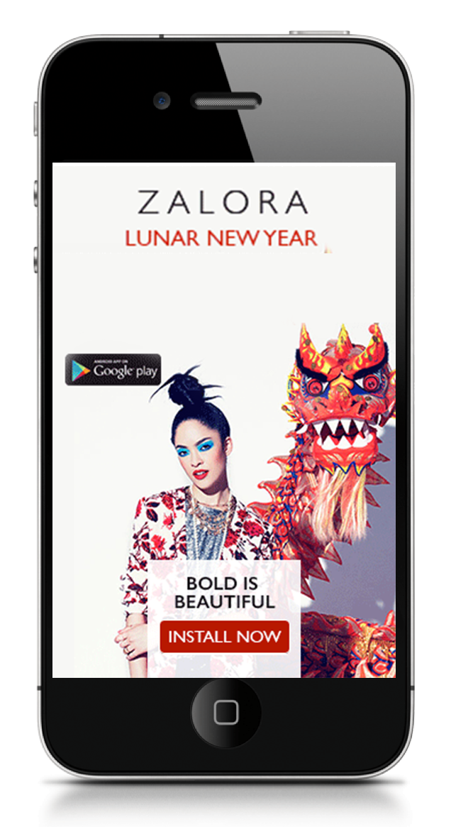 Chinese New Year Campaign.  Concept Development and Art Direction.
