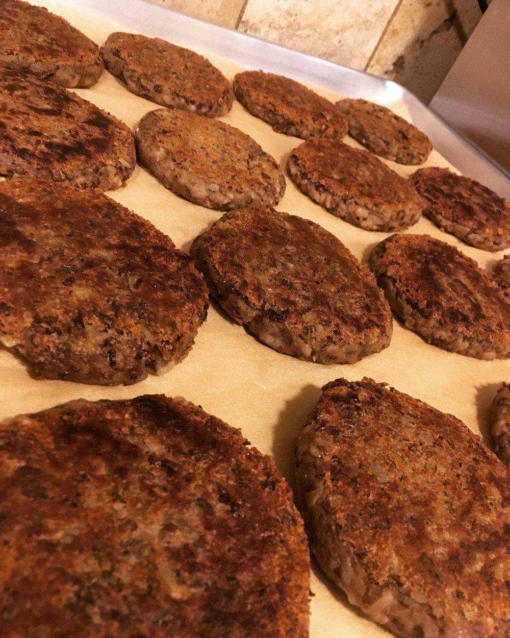 Gluten Free Lentil Burgers
