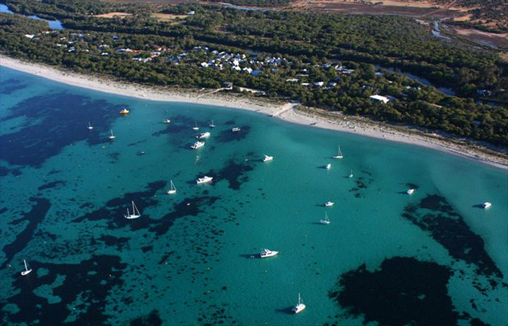 Aerial view of Dunsborough