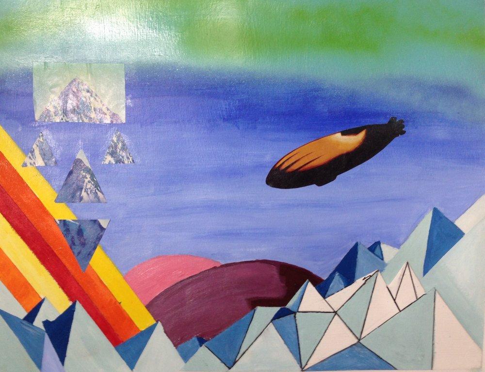 Zeppelin Landing