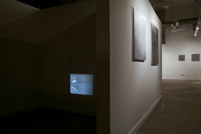 Slight Landscape, 16mm film installation Roots and Culture Gallery, Chicago IL