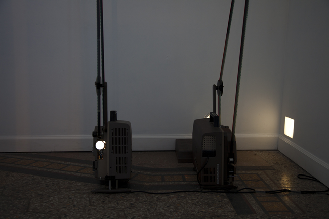 Ray, 2012 and Slight Landscape, 2012