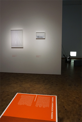 Installation view 8 Aero Glow, 2016. Paper Wave, 2010 Archival digital photographs by Raquel Ladensack Voakes Bauhaus Archiv Museum, Berlin Germany