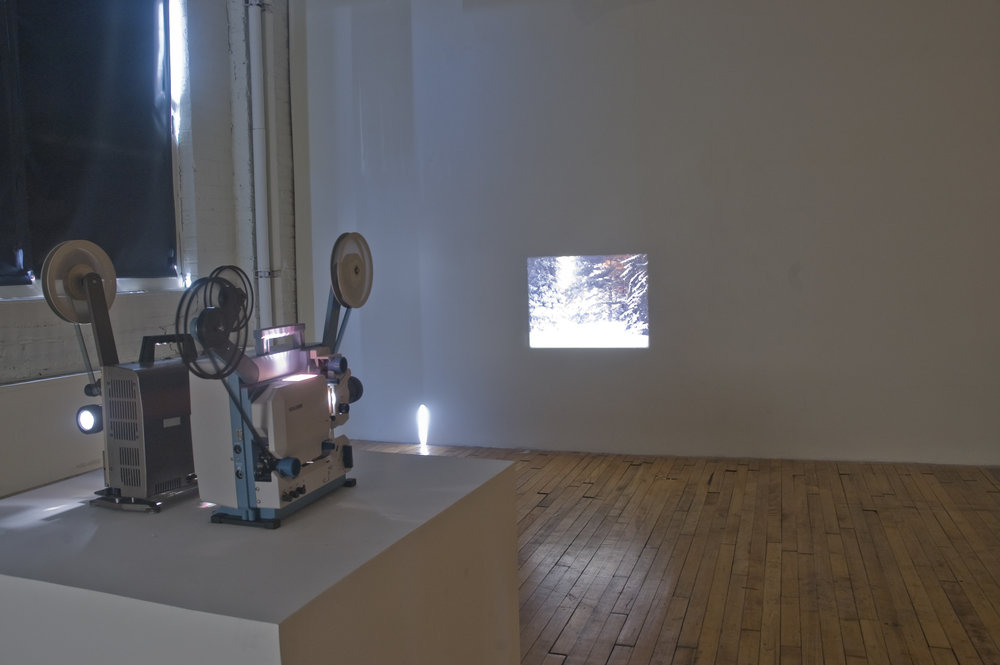 Place-ness, 2011 16mm film installation