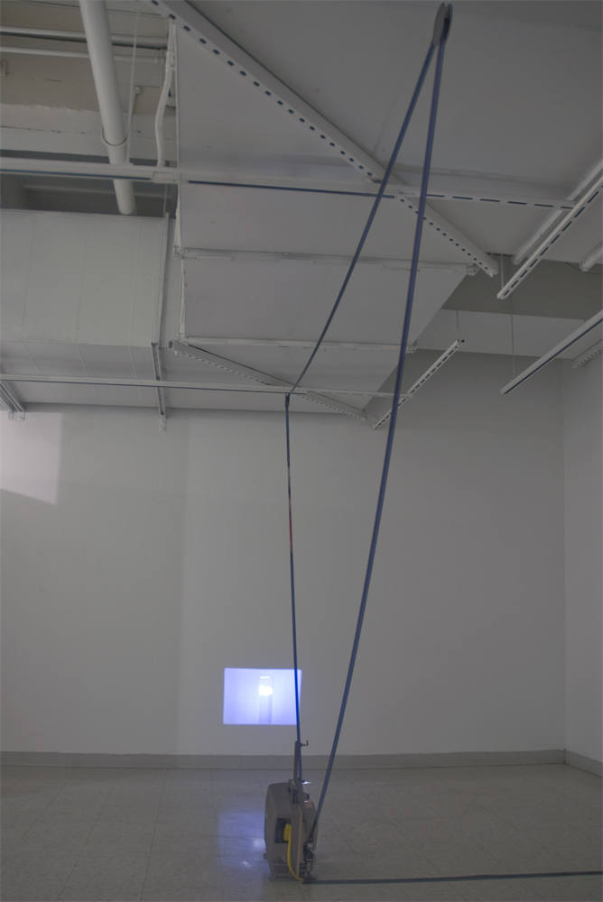 Refract, 2010 16mm film installation