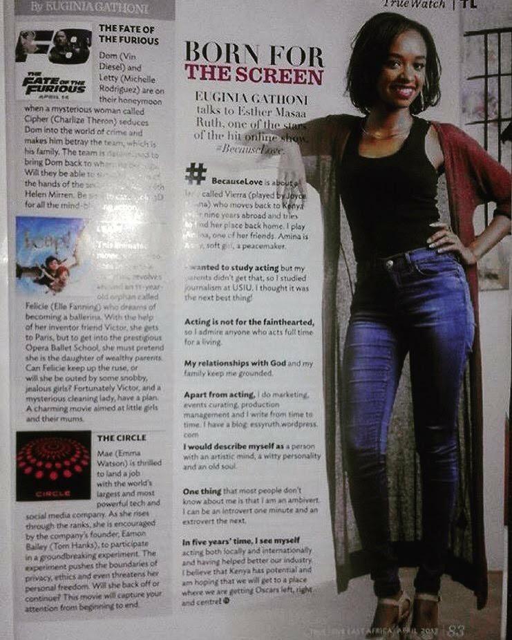 Esther Ruth True Love Magazine