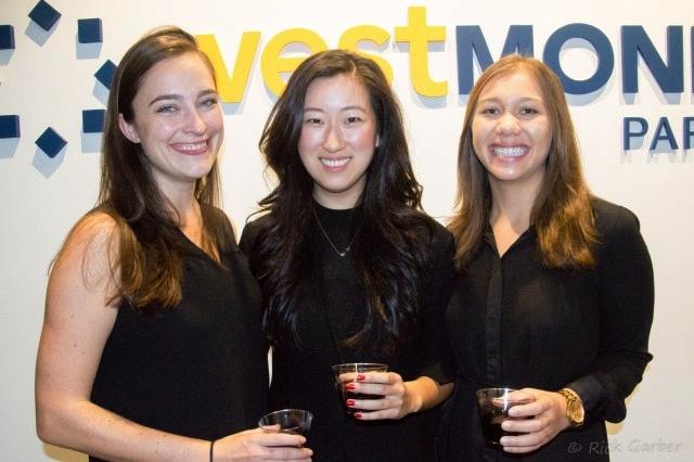 From left to right: Shawna Rasmussen, Julia Ko, and Karen Wisniewski