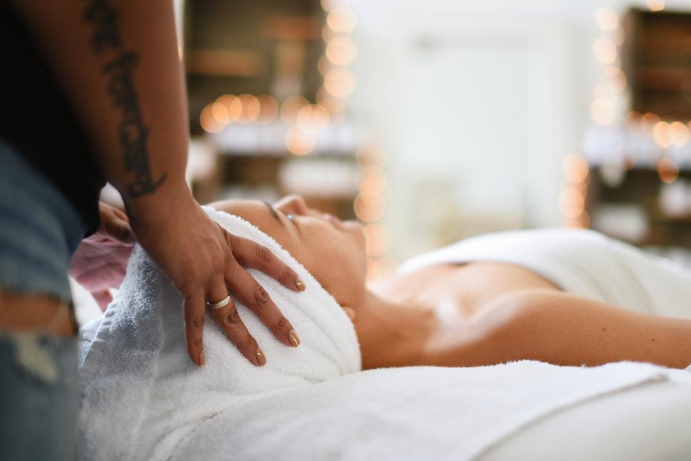 Healing beauty and renewal - through the magic of therapeutic facials, sugaring and massage.