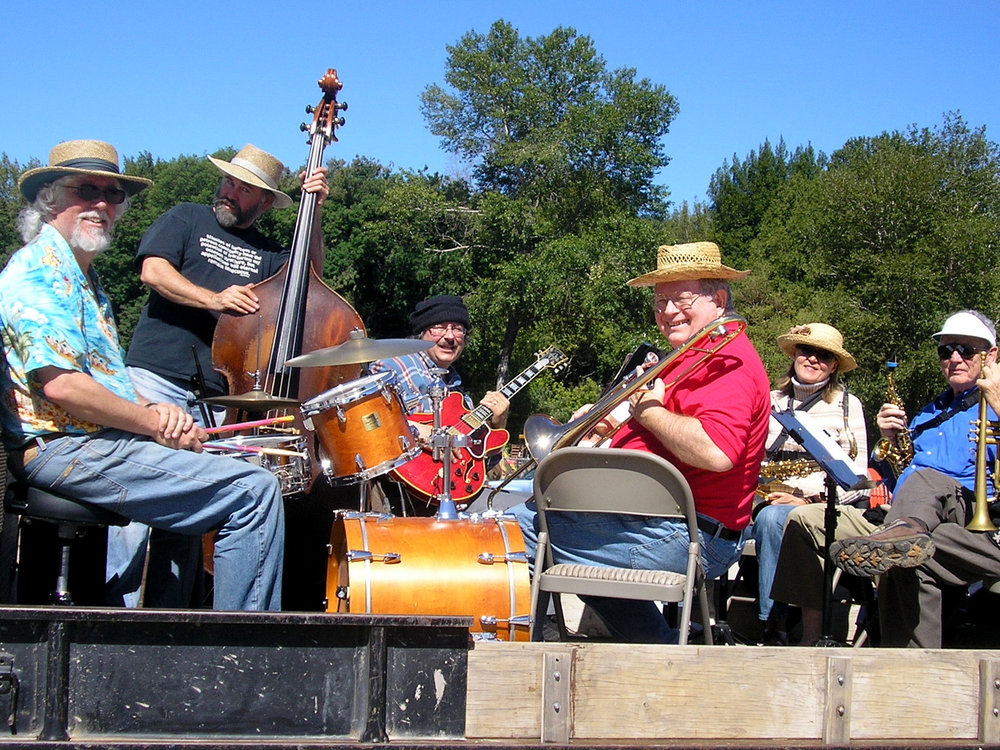 Five Bands! Music From 11am to 5pm   Music At Covered Bridge Park    Learn More