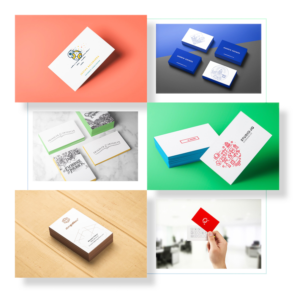 Business Card Mockups - 10 business card mockups with many different and unique perspectives. Single and as stacked versions included. Also there is hand holding business card mockup.Full Preview