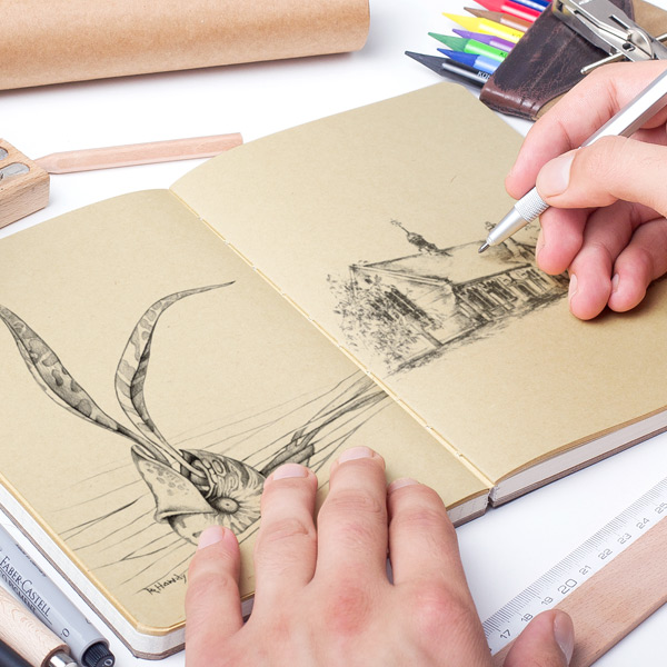 Realistic Results - All of the mockups gives you the best results. You can easily show your sketches or any other designs on these surfaces like taking a real photo.