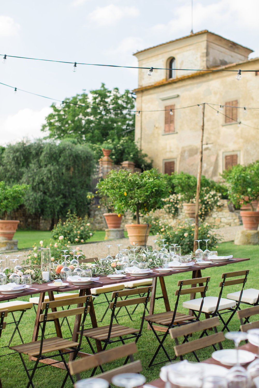 Wedding Dinner in Tuscany