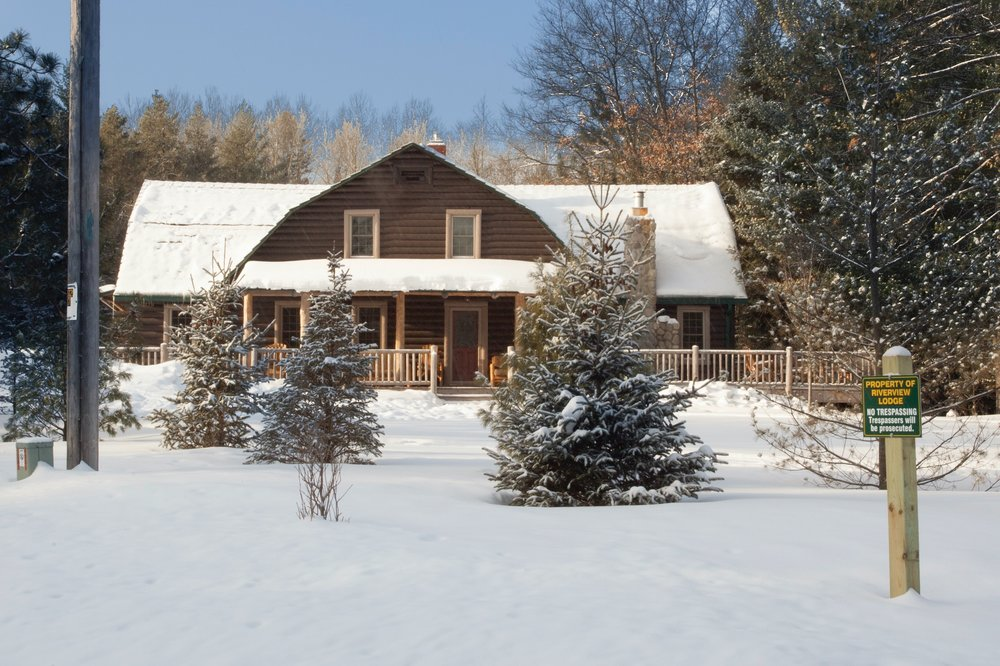 All four seasons can be enjoyed with our lodge as your tranquil base camp.  Year-round fly fishing and kayaking/canoeing on the famed Au Sable River. The quiet sports of winter - cross country skiing, snow shoeing, and hiking - are right outside your door. There is fall hunting and color touring as well as street and trail bicycling in scenic Crawford, Roscommon and Oscoda counties. Hiking on foot trails in the Huron National Forest and nearby Hartwick Pines State Park is beautiful. You can golf on some of Michigan's finest courses like Forest Dunes and Garland, both within an easy drive.  You can also create your own adventure or try one of our seasonal getaway packages.