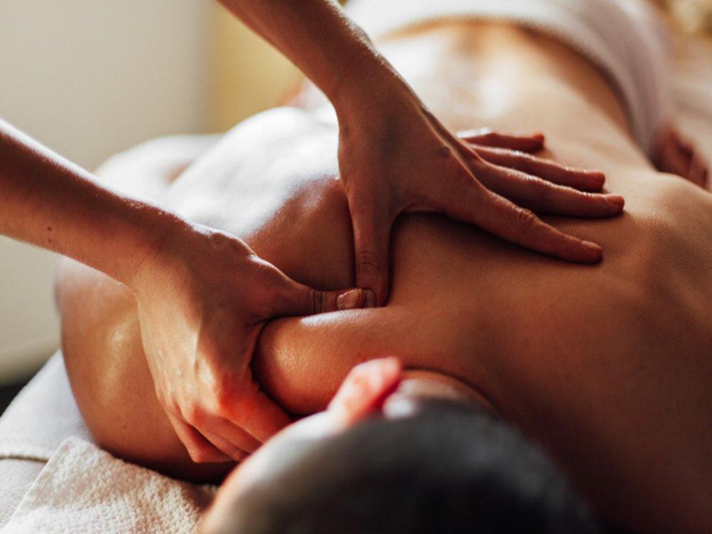 Japanse gezicht massage